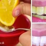 Sledujte, ako sa vaše zuby vybielia za 2 minúty s touto domácou pastou