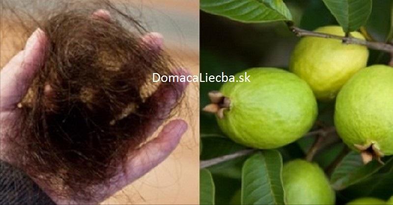 guava a vypadávanie vlasov