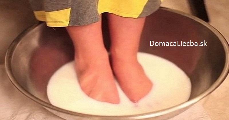 kúpeľ na nohy