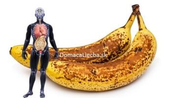 Ak zjete 2 banány denne počas mesiaca, toto sa stane vášmu telu