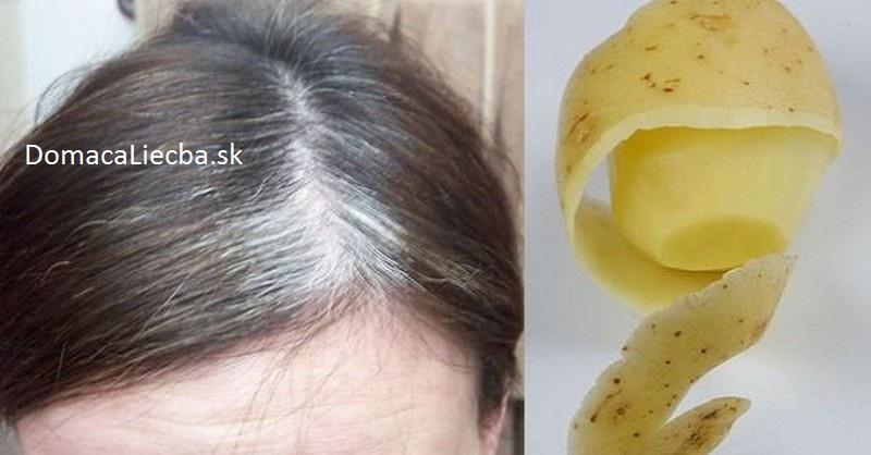 ako sa zbaviť šedých vlasov