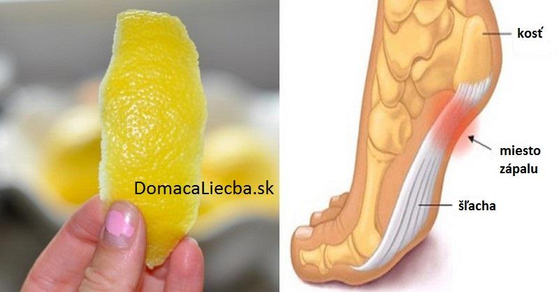trik citronová kôra