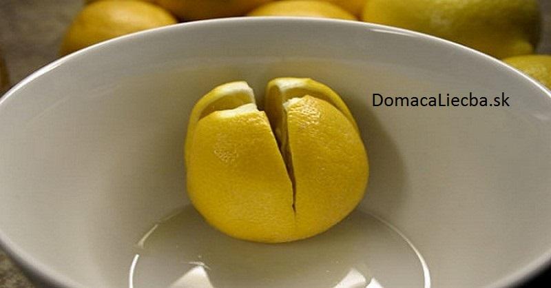 citrón a domácnosť