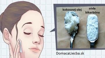 Zmiešajte kokosový olej a sódu bikarbónu a vyzerajte o 10 rokov mladší