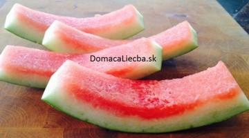 Dôvody prečo by ste nemali vyhadzovať šupy z červeného melóna