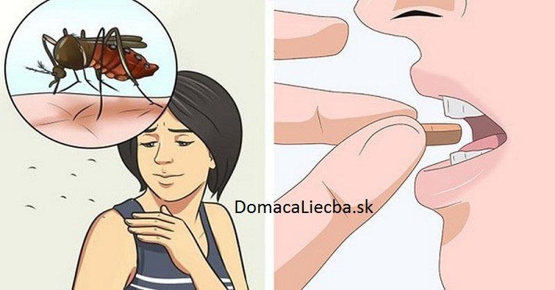 vitamín proti komárom