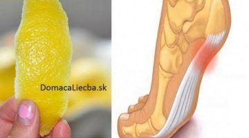 Takto sa pomocou citrónovej kôry zbavíte bolestivých zápalov kĺbov a svalov