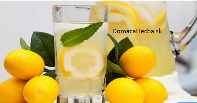 citronová šťava