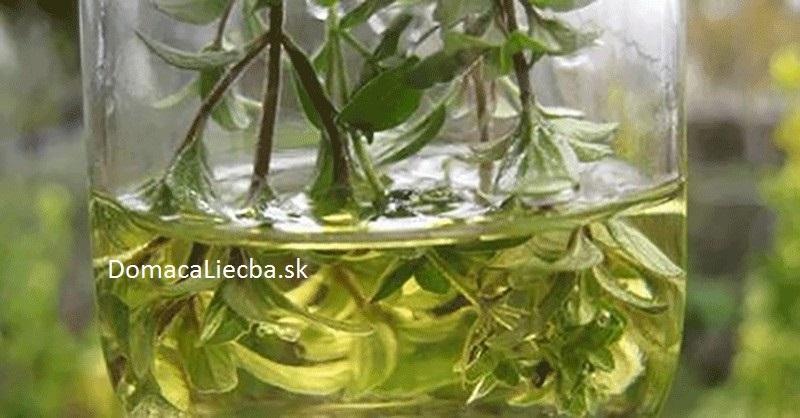 tymianový olej