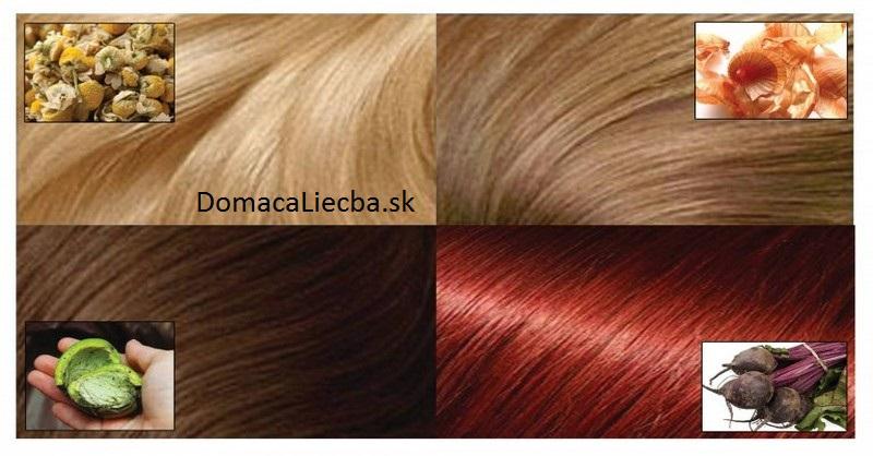 Ako získať rôzne prírodné sfarbenie vlasov, bez použitia chemikálií