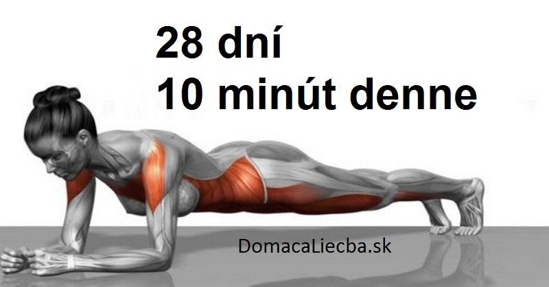 5 jednoduchých cvikov, ktoré za 4 týždne kompletne pretransformujú vaše telo