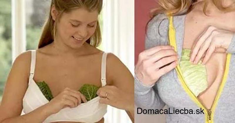 Mnohé ženy si vkladajú kapustové listy do podprseniek. Dôvod vás prekvapí!