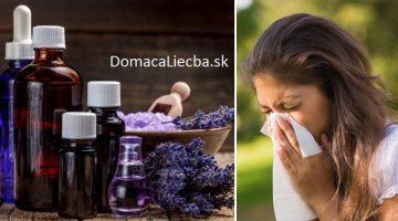 5 éterických olejov, ktoré vás navždy zbavia alergií