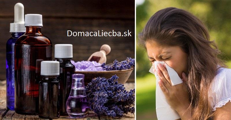 5 éterických olejov, ktoré vás zbavia peľových a prachových alergií