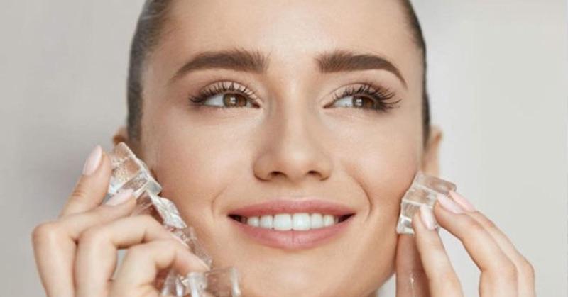 6 dôvodov, prečo by ste si mali na tvár začať prikladať ľad