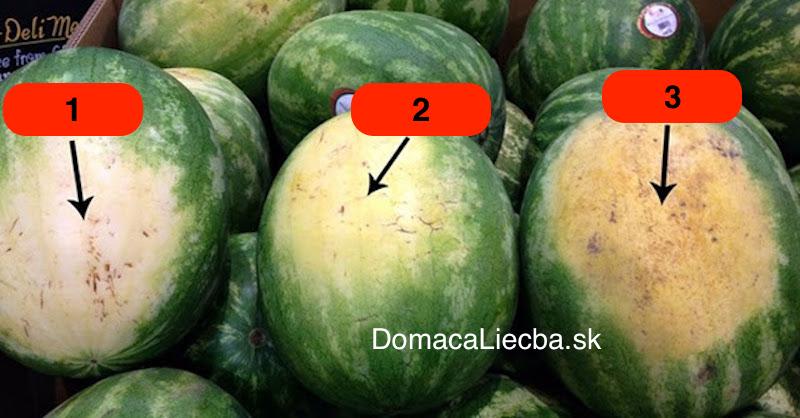 ako si vybrať sladký zrelý melón