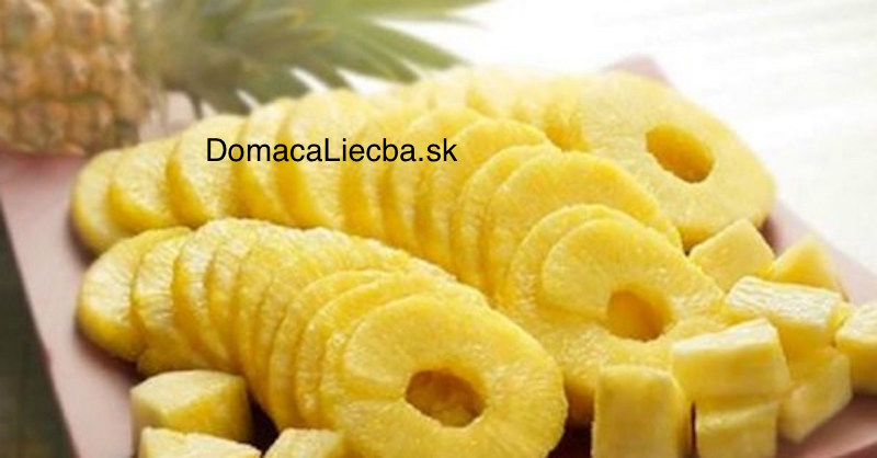 zdravotné prínosy ananásu