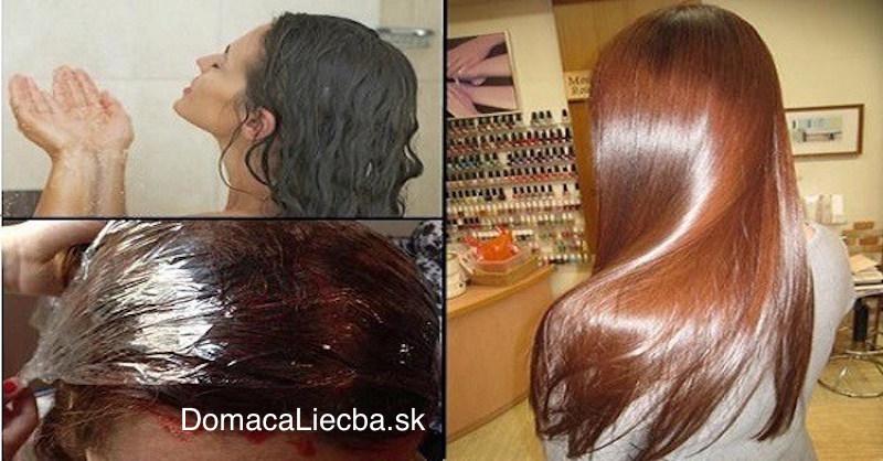 Domáca farba na vlasy: Nedráždi pokožku avýborne farbí