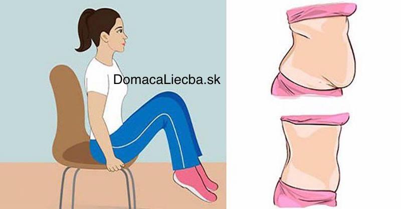 Stiahnite a vyformujte si brucho s týmito 5 stoličkovými cvikmi