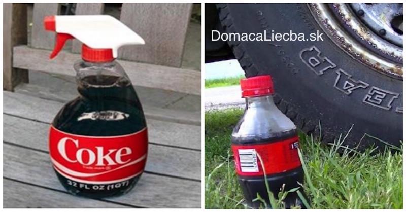 20 praktických využití Coca coly: Dôkaz, že nepatrí do ľudského tela