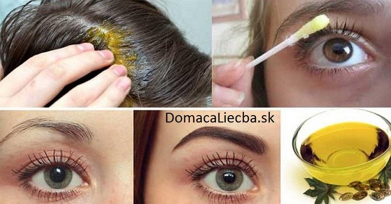 Olejová zmes na rýchly rast vlasov, mihalníc a obočia