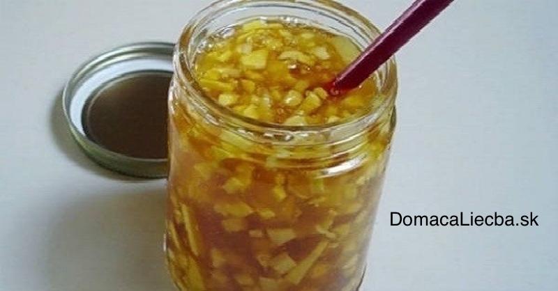 Liečba rakoviny s pomocou medu a zázvoru - recept