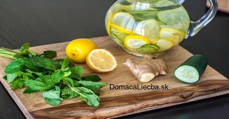 Recept na detoxikáciu tela aspálenie extra tuku – výsledok už za 7 dní!