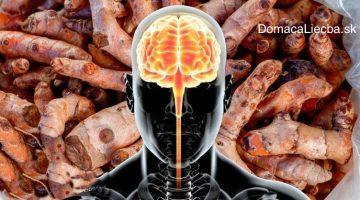Ako sa fyzicky mení váš mozog po konzumácii kurkumínu