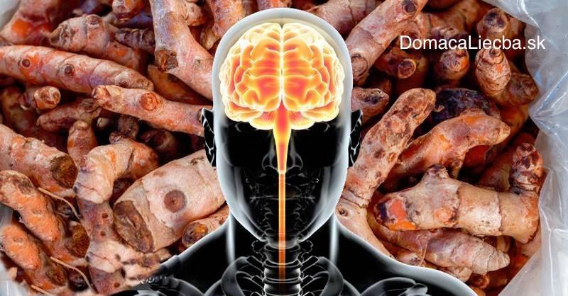 Ako sa fyzicky zmení váš mozog po konzumácii kurkumínu