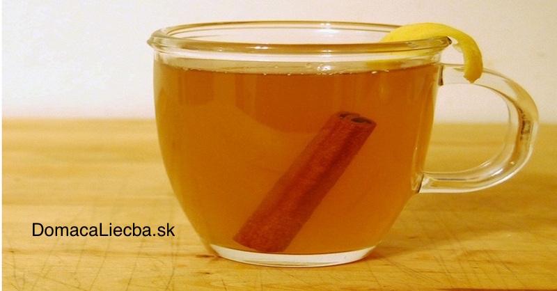 Domáci nápoj na chudnutie zložený ziba 2 bežných ingrediencií