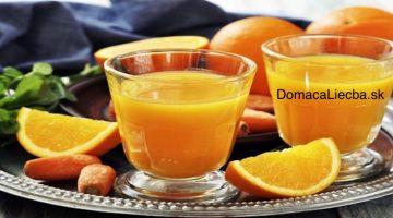Zázrak v pohári: Tento džús potlačí takmer každú alergiu
