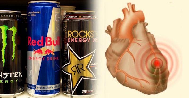 Čo sa stane vášmu srdcu, keď budete piť veľa energetických nápojov