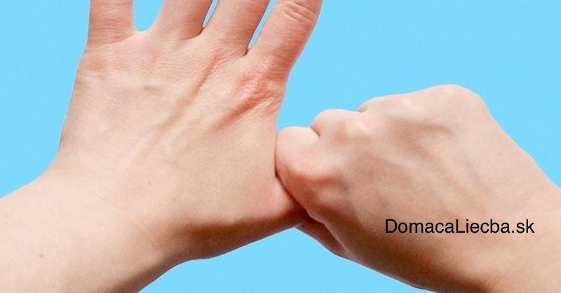 Držte ruky v tejto polohe... Neuveríte, čo bude nasledovať