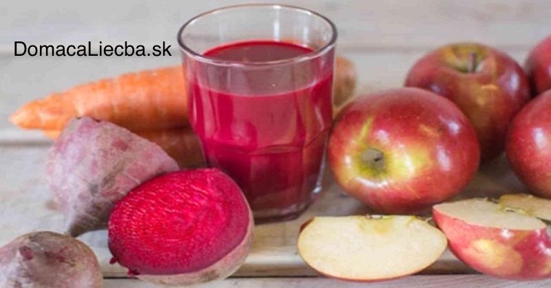 Čo vznikne, ak zmiešate šťavu z červenej repy, jabĺk a mrkvy