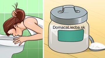 7 domácich liekov proti zvracaniu, ktoré nájdete vo vašej kuchyni