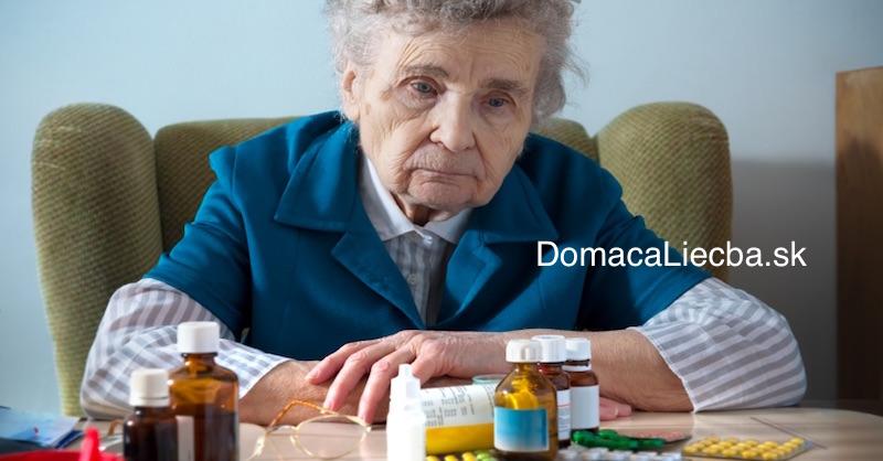 """Mnohé prípady """"demencie"""" sú v skutočnosti vedľajšie účinky týchto liekov"""